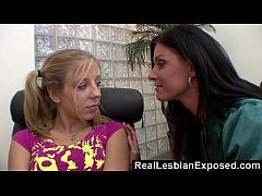 RealLesbianExposed - Mommy Knows How to Comfort Her Stepdaughter