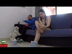 Masturbates while his partner is eating and the...