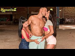 MAMACITAZ - Lucky Daddy Knows How To Satisfy A Raunchy Teen And A Lonely MILF Wife (Apolonia Lapiedra & Alexa Tomas)