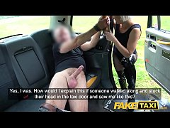 Fake Taxi Tables are turned on horny dominatrix by big cock driver