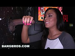 BANGBROS - PAWG Gianna Nicole Sucks Multiple Random Big Dicks in Gloryhole