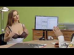 LOAN4K. Hot sex in the loan office of Suzie Sun...