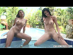 Latina Hot Tub Whores...