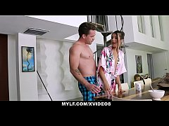MYLF - Sexy Milf Gives Her Hot Stepson A Helping Hand