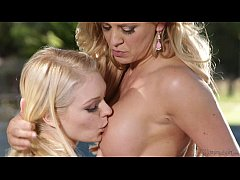 Step-Mother Cherie DeVille and Alli Rae Have Lesbian Sex