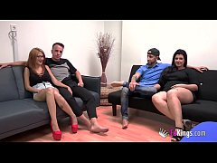 Clip sex Tomy and Noa  vs Fede and María, their first SUPERSWINGING with a lot of polemics afterwards.
