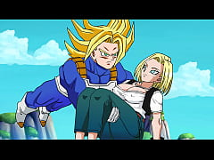 Clip sex Rescuing Android 18 - Hentai Animated Video