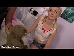 Cutest Blonde Teen You've Ever Seen Gets Fucked!