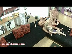 Clip sex The Biggest and the baddest flexible foursome