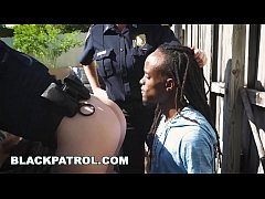 BLACK PATROL - Cougar Cops Maggie Green and Joslyn Bust Rastafarian Graffiti Artist