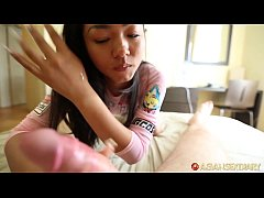 ASIANSEXDIARY Inked Up Round Booty Asian Deep T...