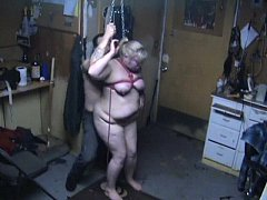 Red Cheeks, Caned Tits, and CHAIN Noose Hangfuc...