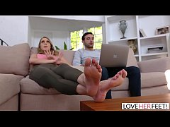 LoveHerFeet - Sucking And Foot Fucking My Super...