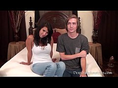 Casting Danielle AKA Evi Fox Desperate Amateurs First Time