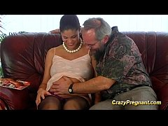 grandpa loves pregnant teen