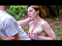 LETSDOEIT - Big Tits Teen Girl Rita Got Teased And Fucked In The Woods By Lutro