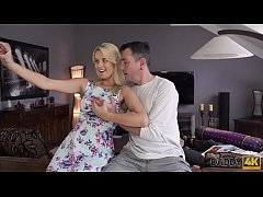 DADDY4K. Aroused chick allows old dad to analyz...