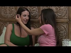 Angela White having lesbian sex with Milana May - Girlfriends Films