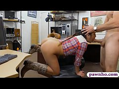 Country girl anal pounded by pawn keeper