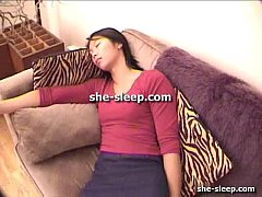 lesbian fucked with strap on while sleeping