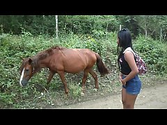 HEATHERDEEP.COM Thai Teen Peru to Ecuador horse...