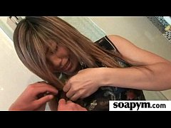 Erotic soapy massage with Happy Ending 21