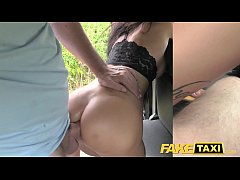 Fake Taxi Cheating brunette...