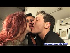 Threesome, transsexual and guy fuck Alice ricci. Directed by Roby Bianchi