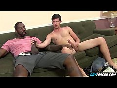 Bubble Butt Twink Punished by Large Black Dick ...