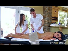 Brazzers - Sexy threesome massage...
