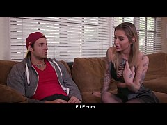 thumb stepmom kleio valentien teaches stepson how to fuck a women
