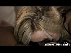 thumb playboy   hot blonde knows how to get her way