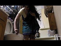 Clip sex South Indian Maid Cleans and Showers hidden camera