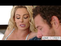 Isabelle Deltore's Brother-In-Law Cums On Her S...