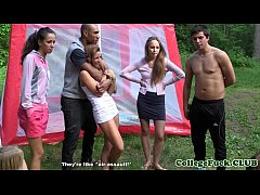 thumb university babe  s group fucked outdoor outdoo  outdoor outdoor