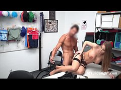 Clip sex MILF Gets Caught Stealing And Cops Punish Fuck Her-Britney Amber