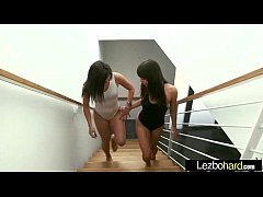 (Jenna Sativa & Leah Gotti) Girl On Girl Play With Their Bodies In Lesbo Sex Act mov-15