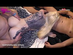 MyDirtyHobby - Threesome action for hot German ...