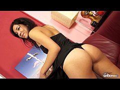 FakeShooting Cute babysitter want earn money on...