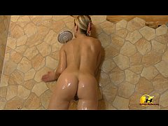 Katerina Hartlova get shower and orgasm with me