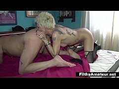 Grampa VS Squirting Milf! Dirty old man want to...