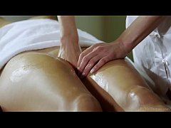 Masseuse Lena Love Fingers...