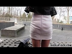 Sexy freak Julie Skyhigh pounded in exchange fo...