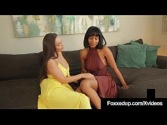 Clip sex Interracial Muff Stuffers Jenna Foxx & Abigail Mac Orgasm!
