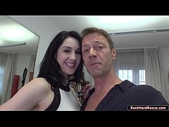 Gorgeous babe licked and analed by Rocco