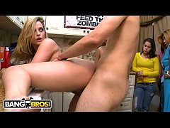 BANGBROS - Pornstar Dorm Invasion With Big Booty Babe Alexis Texas & Friends