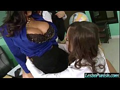 Lesbo Girls (abigail&ava&ryan) Use all Kind Of Toys In Punish Action Sex Tape mov-03