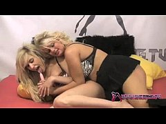 Shebang.TV - Two beautiful lesbian babes in hardcore action