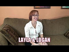 Redhead wife Layla Redd gets her mature pussy p...