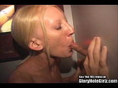 Thin blonde Carla gives it up to strangers in a...